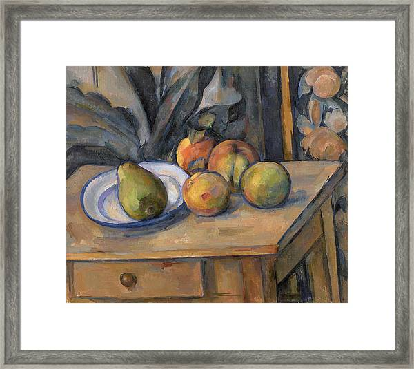 The Large Pear Framed Print
