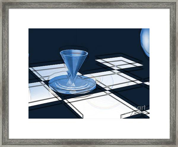 The Last Chess Pawn Framed Print