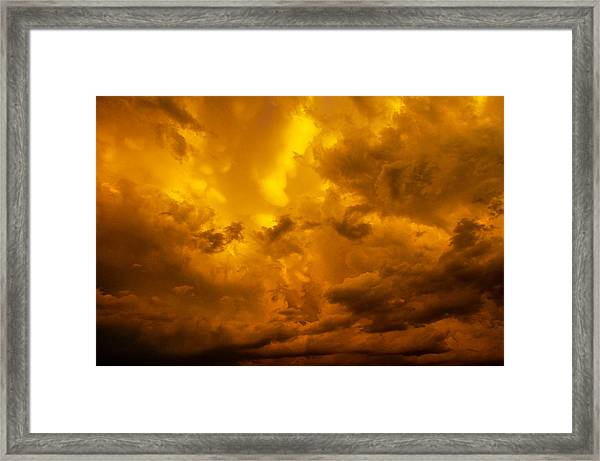 The Last Glow Of The Day 008 Framed Print