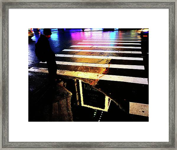 The Last Man  Framed Print