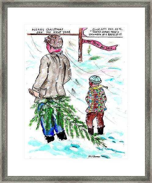 The Last Tree Framed Print