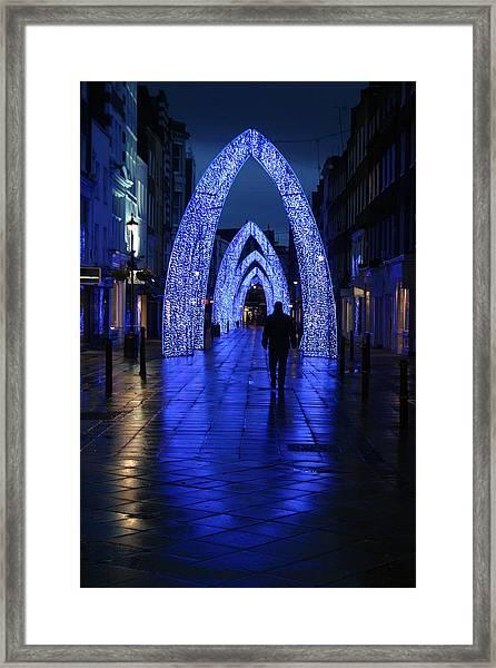 The Last Walk Framed Print by Jez C Self