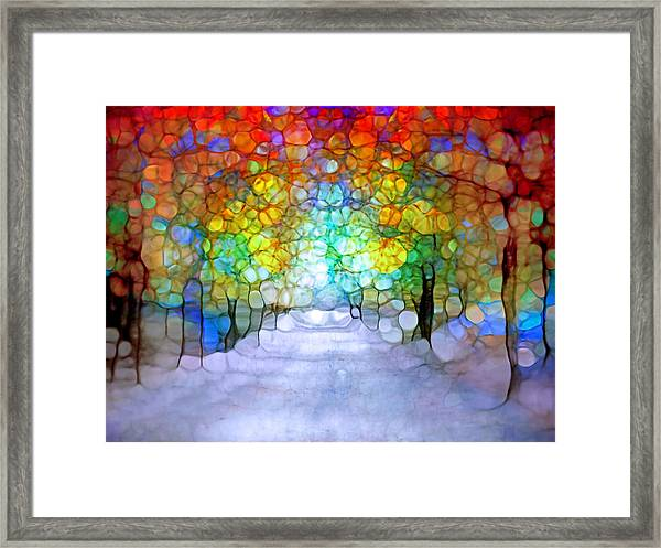 The Laughing Forest Framed Print