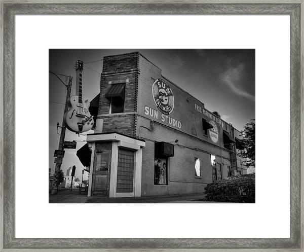 The Legendary Sun Studio 001 Bw Framed Print