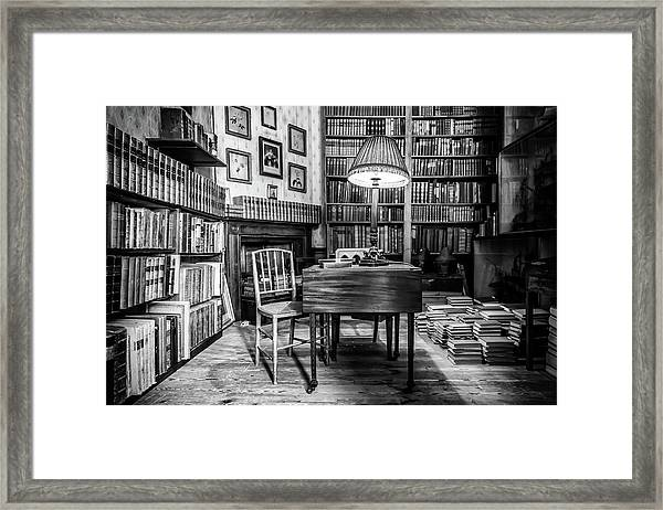 Framed Print featuring the photograph The Library by Nick Bywater