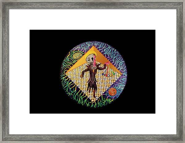 The Light Himself Framed Print