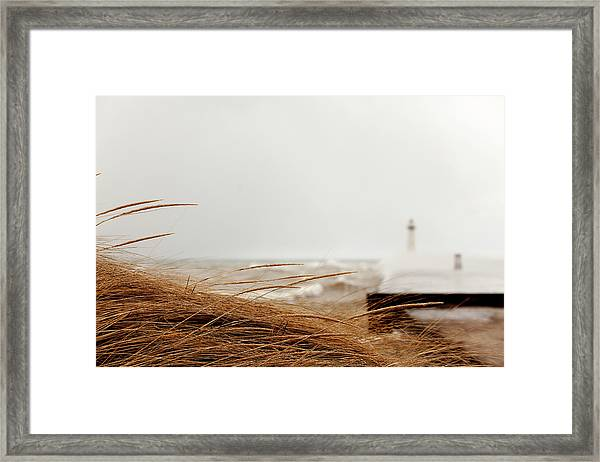 The Light In The Distance Framed Print