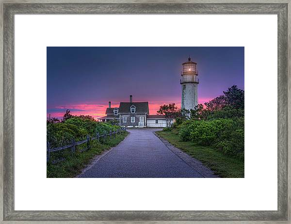 The Light Of Coming Dawn Framed Print