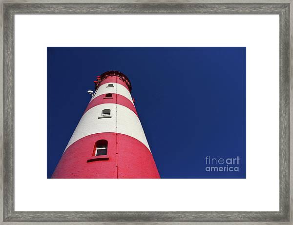 The Lighthouse Amrum Framed Print