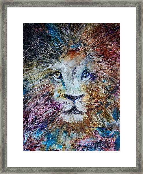 The Lion Framed Print