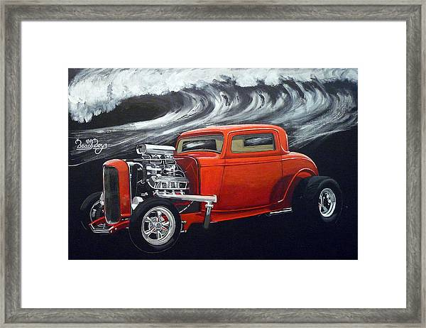 The Little Deuce Coupe Framed Print