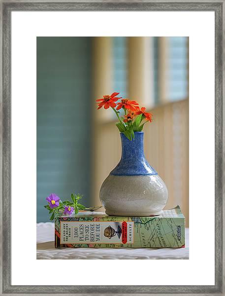 The Little Vase Framed Print