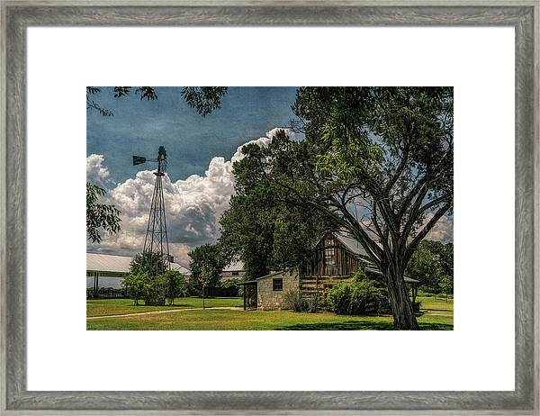 The Little Winery In Stonewall Framed Print