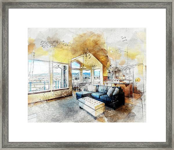 The Living Room Framed Print