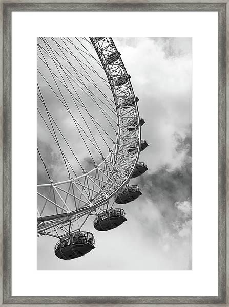 The London Eye, London, England Framed Print