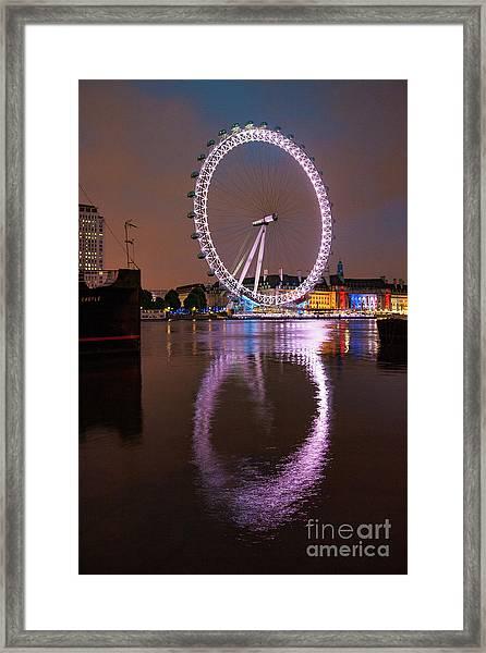 The London Eye Framed Print