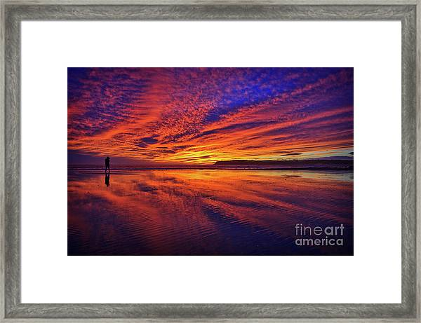 The Lone Photographer Framed Print