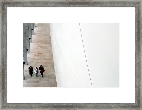 The Long Maze Framed Print by Jez C Self