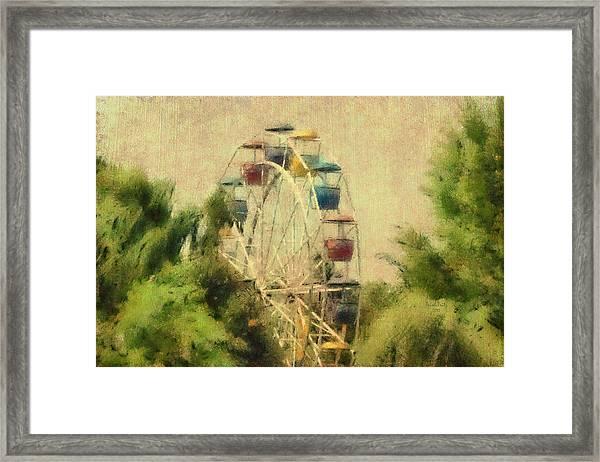 The Lover's Ride Framed Print