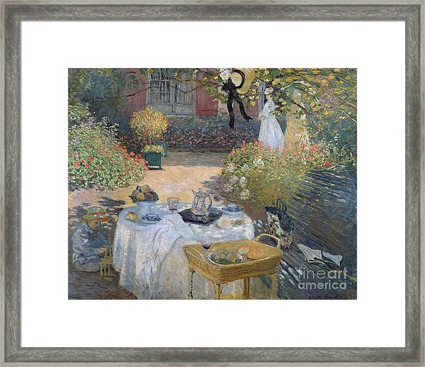 The Luncheon Framed Print