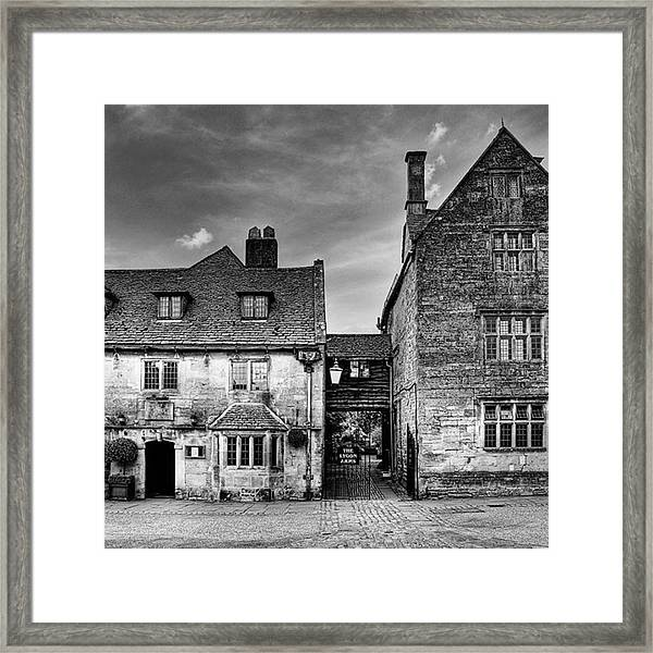 The Lygon Arms, Broadway Framed Print