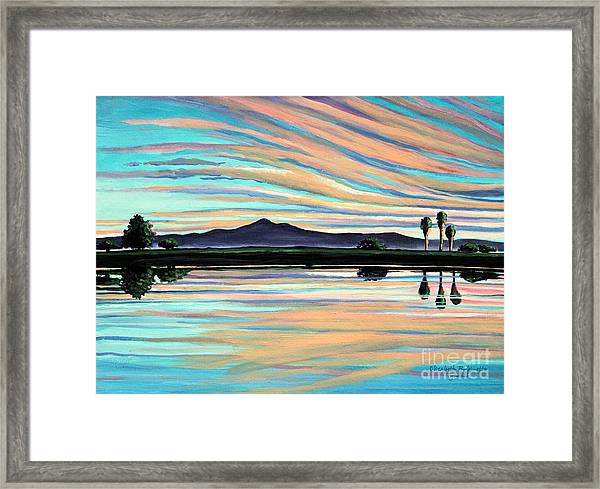 The Magic Is In The Water Framed Print