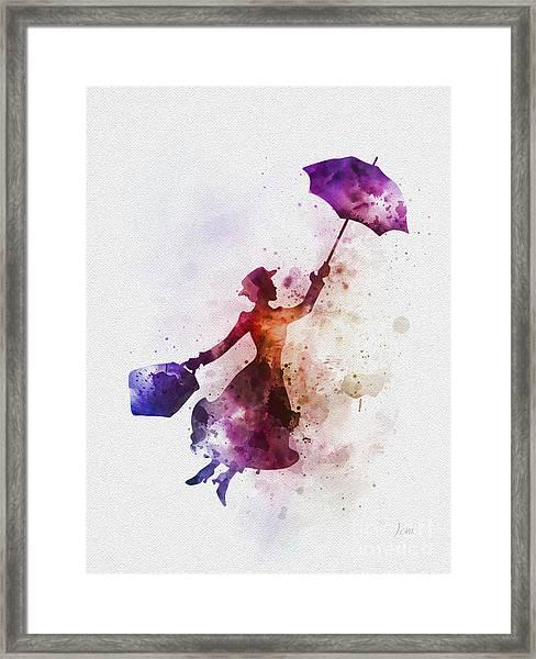 The Magical Nanny Framed Print