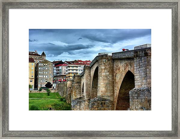 The Majestic Ponte Vella Framed Print