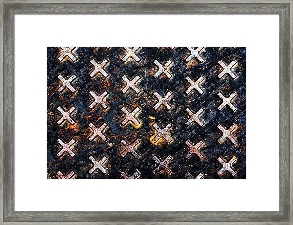 The Manhole Framed Print