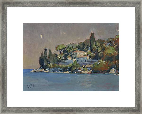 The Mansion House Paxos Framed Print