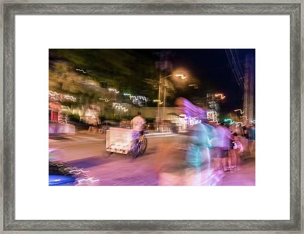 The Many Moods Of Duval Street Framed Print