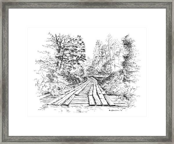 The Mcneely Bridge Framed Print
