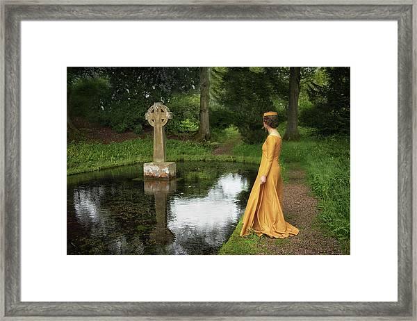 The Medieval Lady Framed Print