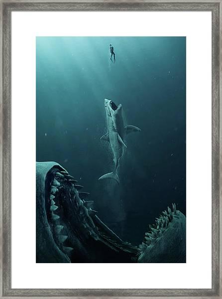 The Meg 5.0.3 Framed Print