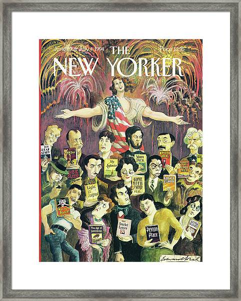 New Yorker June 27th, 1994 Framed Print