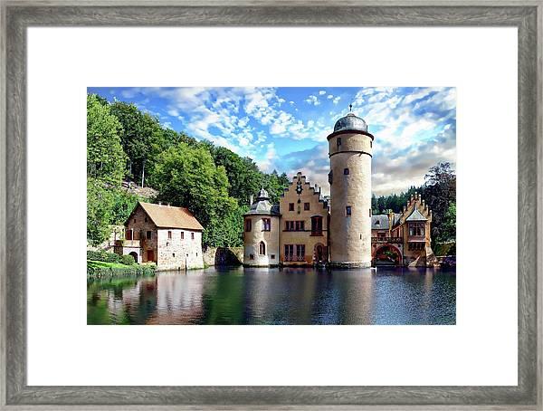 The Mespelbrunn Castle Framed Print