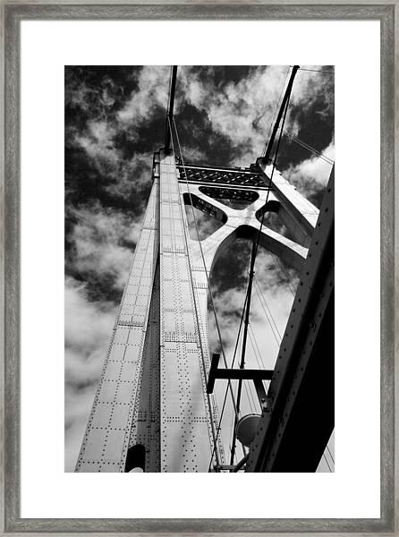 The Mid-hudson Bridge Framed Print