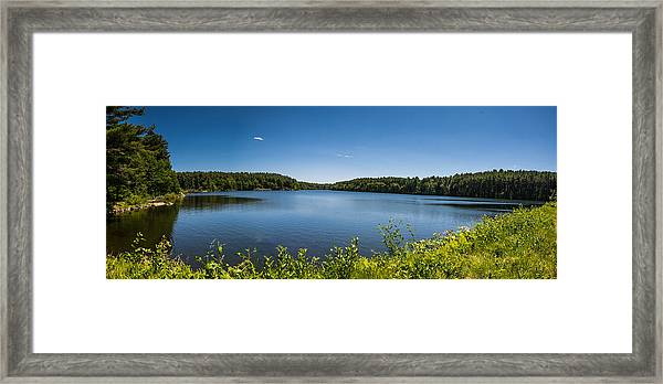 The Middle Of The Afternoon Framed Print