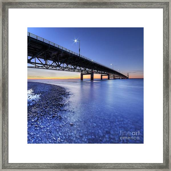 The Mighty Mac Framed Print by Twenty Two North Photography