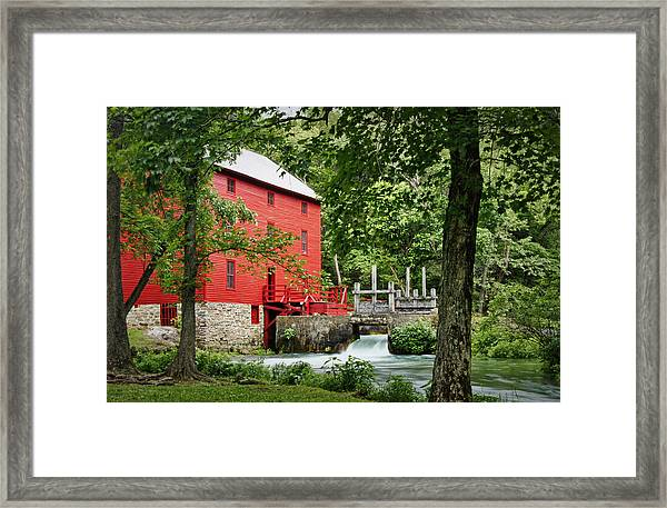 The Mill At Alley Spring Framed Print