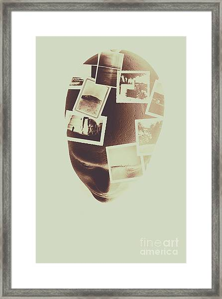 The Mind Manifesto Framed Print