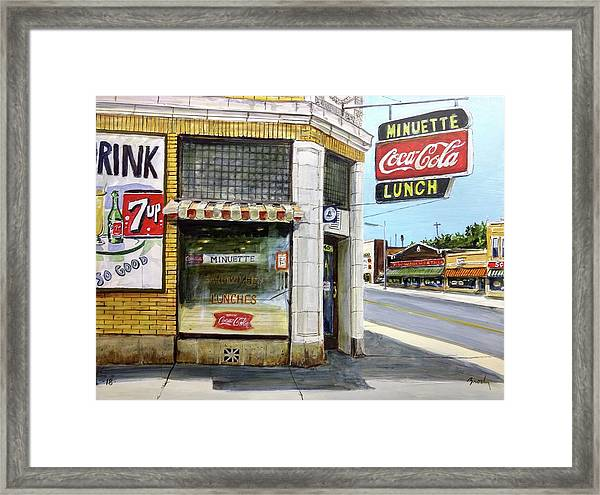 The Minuette Framed Print