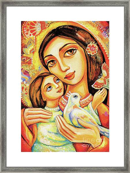 The Miracle Of Love Framed Print