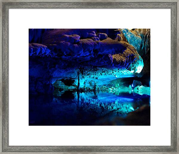 The Mirror Pool Framed Print
