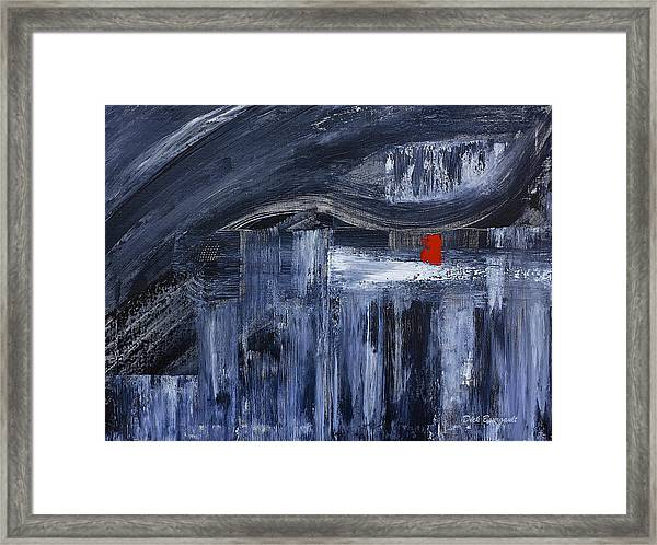 The Missing Piece Framed Print
