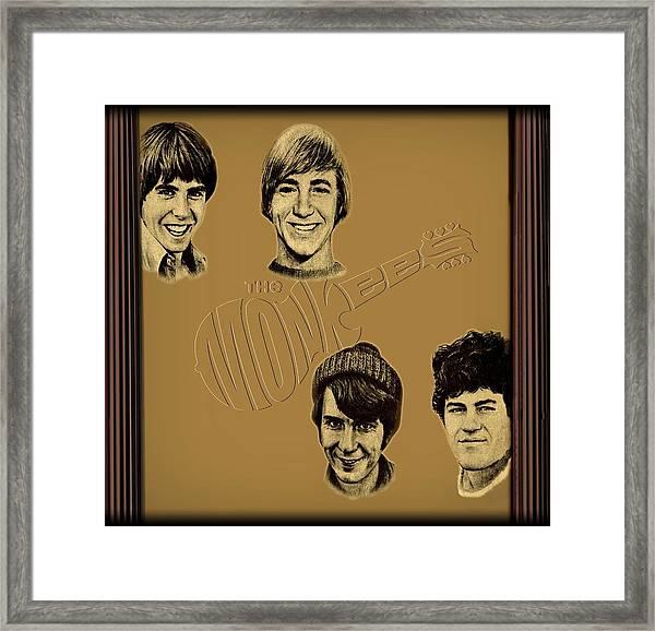 The Monkees  Framed Print