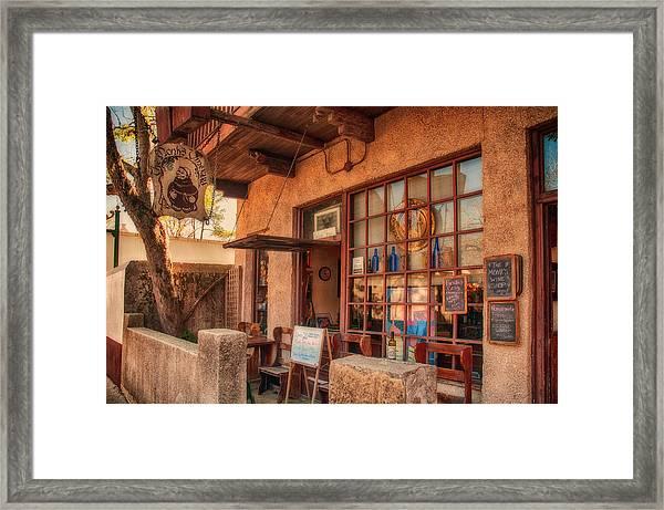 The Monk's Vineyard Framed Print