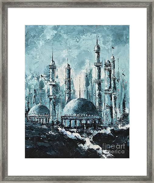 The Mosque-2 Framed Print