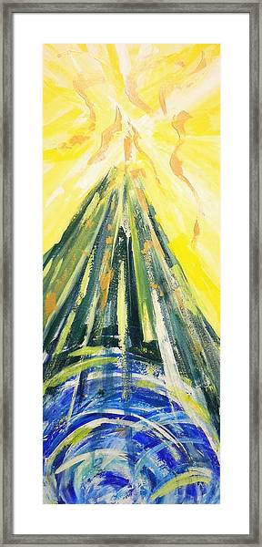 The Mountain Of The Lord Framed Print
