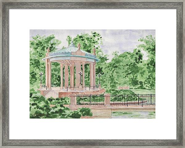 The Muny At Forest Park Framed Print